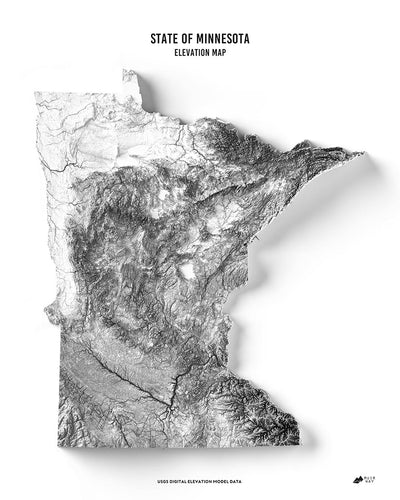 Minnesota 3D Map