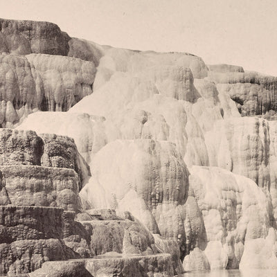 Mammoth Hot Springs, Lower Basin, Yellowstone 1873
