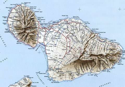 Maui hi 1951 usgs map thecheapjerseys Image collections