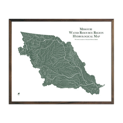 Missouri Regional Hydrological Map