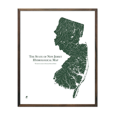 New Jersey Rivers Map