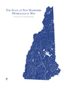 New Hampshire Hydrological Map