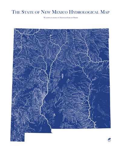 New Mexico Hydrology Map