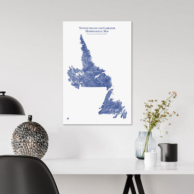 Newfoundland-and-Labrador-Hydrology-Map-blue-14x21-canvas.jpg