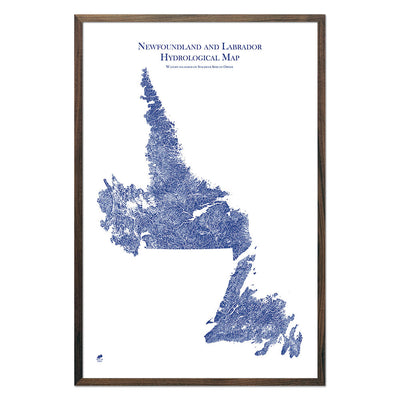 Newfoundland-and-Labrador-Hydrology-Map-blue-24x36-walnut.jpg