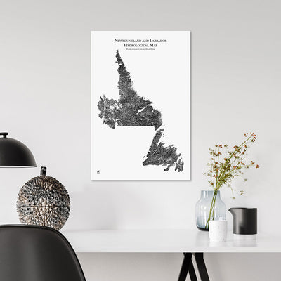 Newfoundland-and-Labrador-Hydrology-Map-black-14x21-canvas.jpg
