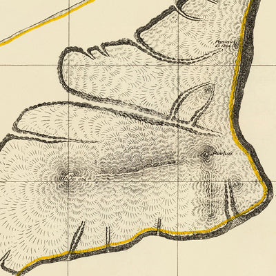 Niihau Island 1904 Map