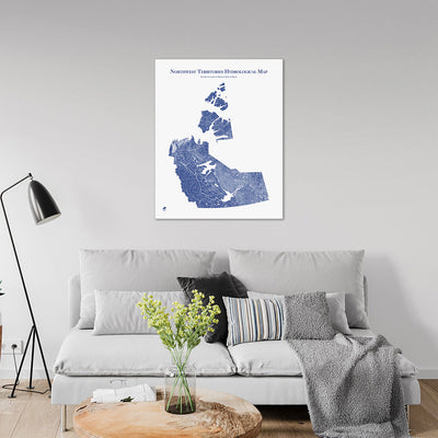 Northwest-Territories-Hydrology-Map-blue-24x30-canvas.jpg