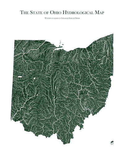 Ohio Rivers Map