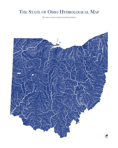 Ohio Hydrology Map