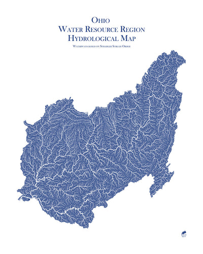 Ohio Regional Hydrological Map