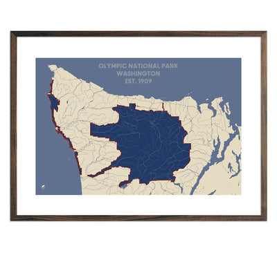 Olympic National Park Map