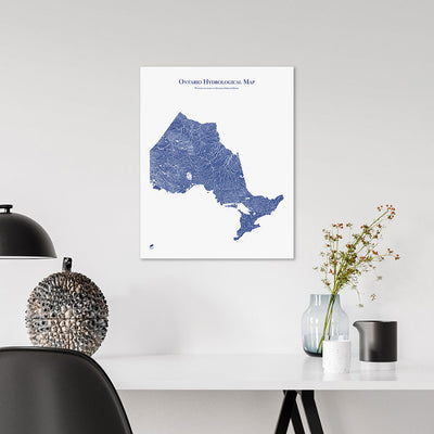 Ontario-Hydrology-Map-blue-16x20-canvas.jpg