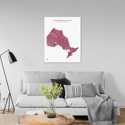 Ontario-Hydrology-Map-red-24x30-canvas.jpg