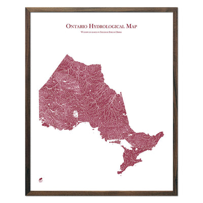 Ontario-Hydrology-Map-red-24x30-walnut.jpg