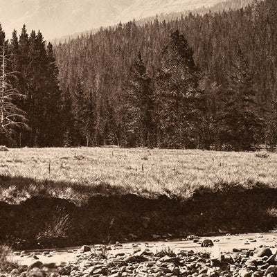 Palace Butte, Near Mount Blackmore, Yellowstone 1873
