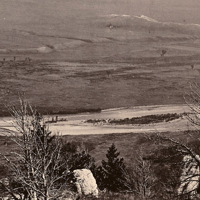 Panoramic View of Yellowstone Valley No. 2, Yellowstone 1873