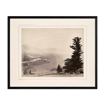 Panoramic View of Yellowstone Valley No. 3, Yellowstone 1873