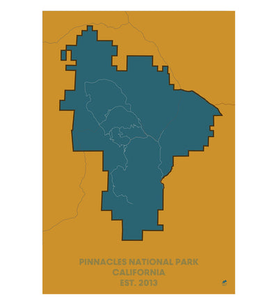 Pinnacles National Park Map