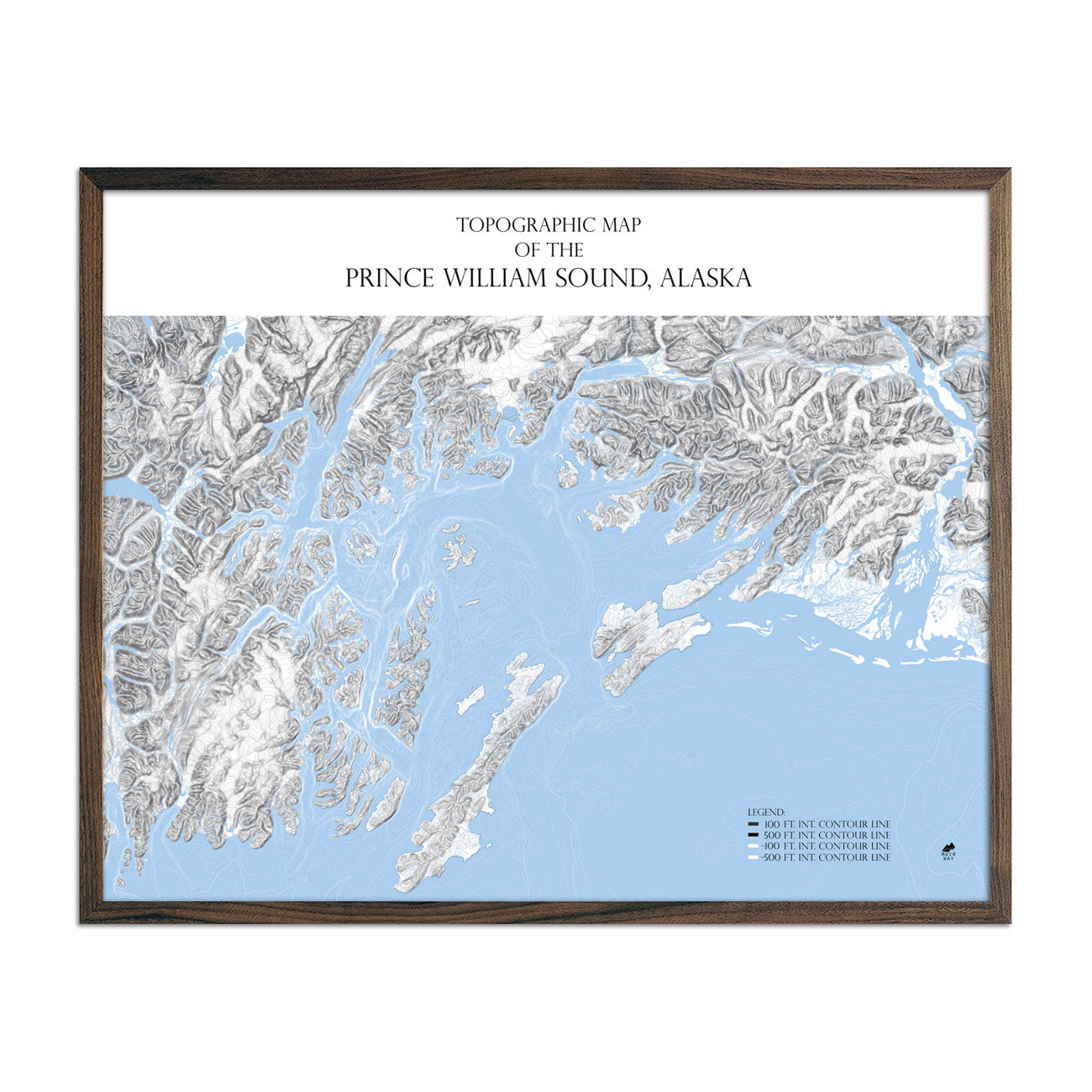Map of Prince William Sound Range