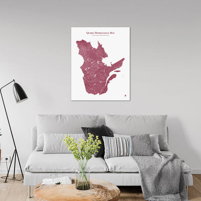 Quebec-Hydrology-Map-red-24x30-canvas.jpg