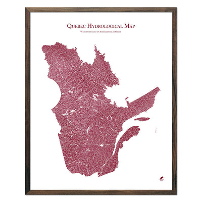 Quebec-Hydrology-Map-red-24x30-walnut.jpg
