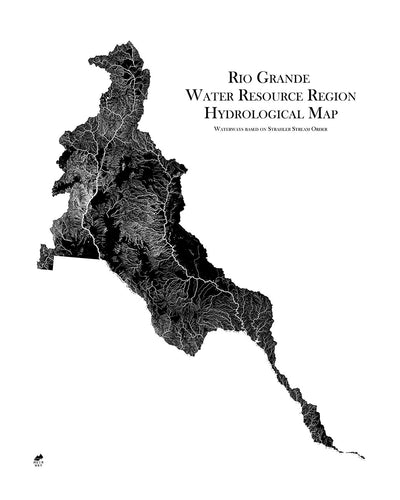 Rio Grande Regional Hydrological Map