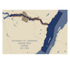Saguenay and St. Lawrence Marine Park Map