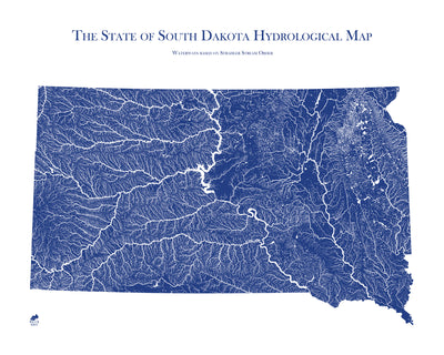 South Dakota Hydrology Map