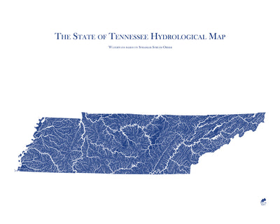 Tennessee Hydrology Map