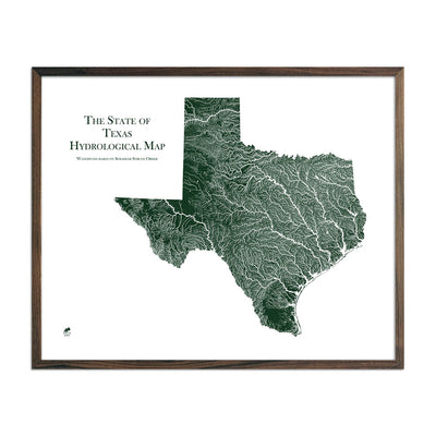 Texas Rivers Map