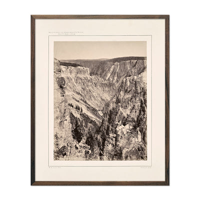 Photograph of The Grand Canyon, One Mile Below the Falls