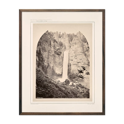 Photograph of Tower Falls