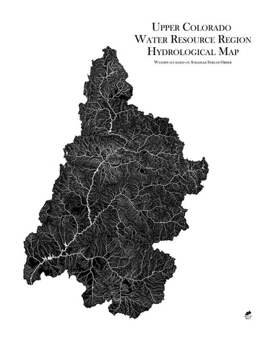 Upper Colorado Regional Hydrological Map