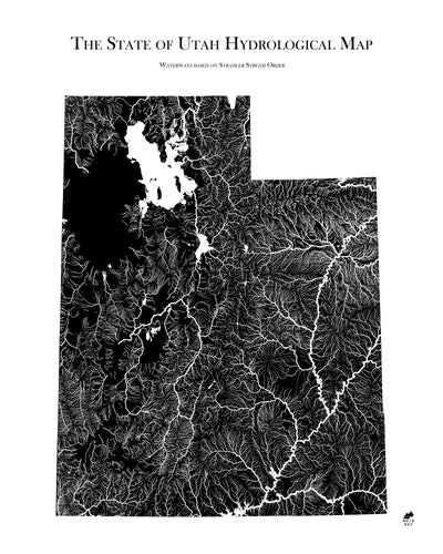 Utah Hydrological Map