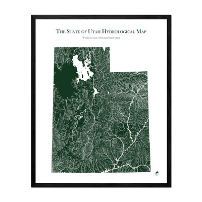 Utah Rivers Map
