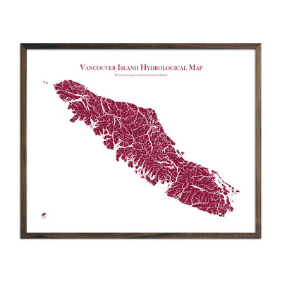 Vancouver-Island-Hydrology-Map-red-24x30-walnut.jpg