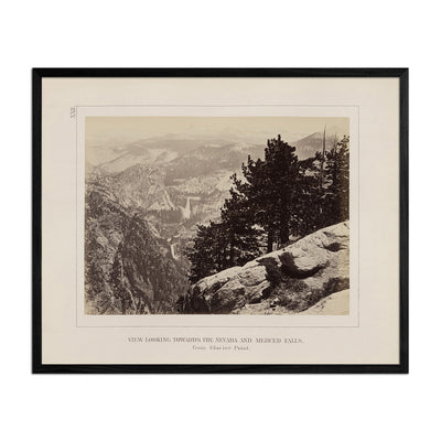 View from Glacier Point, Yosemite 1868