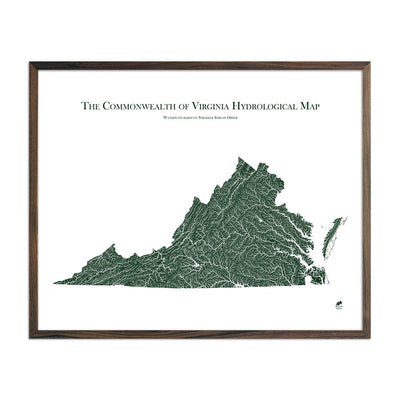 Virginia Rivers Map