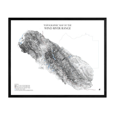 Wind River Mountains-Range Series