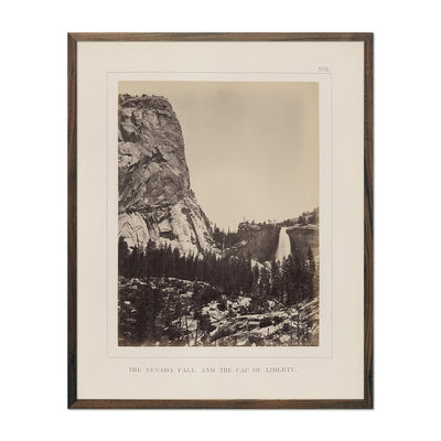 Nevada Fall and Cap of Liberty, Yosemite 1868