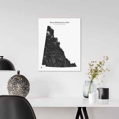 Yukon-Hydrology-Map-black-16x20-canvas.jpg
