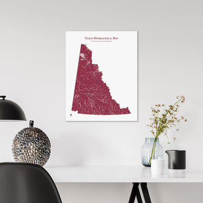 Yukon-Hydrology-Map-red-16x20-canvas.jpg