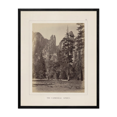 Cathedral Spires, Yosemite 1868
