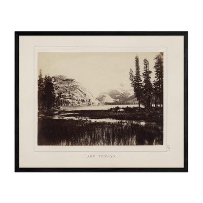 Lake Tenaya, Yosemite 1868