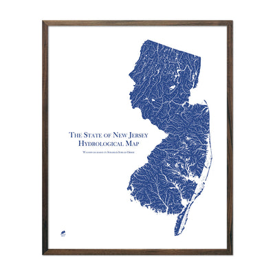 New Jersey Hydrology Map
