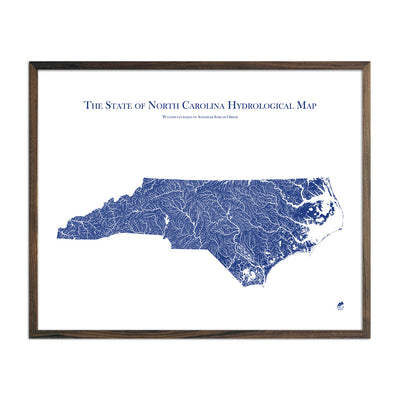 North Carolina Hydrology Map