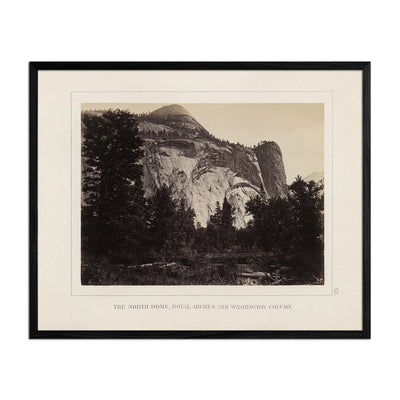 North Dome, Royal Arches and Washington Column, Yosemite 1868