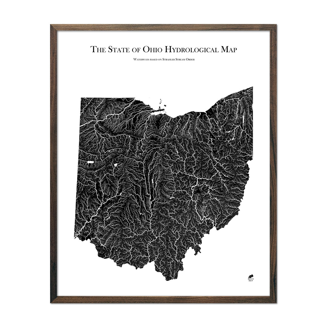 Ohio Hydrological Map