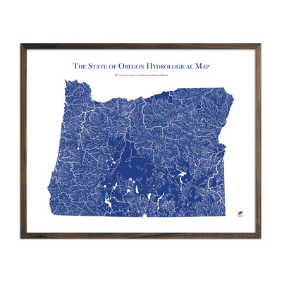 Oregon Hydrology Map